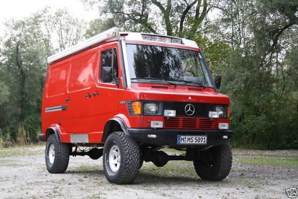 for Mercedes benz vario 4x4 for sale