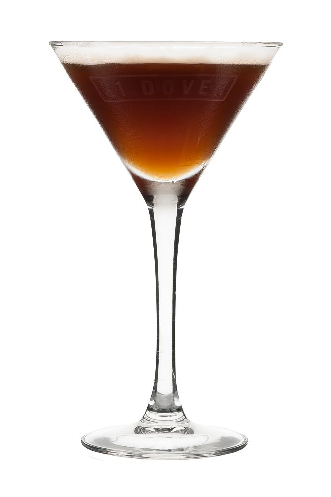 ESPRESSO MARTINI : INGREDIENTS - 2 measures Vodka 1 measure Cold expresso coffee 1/2 measure Sugar syrup (sugar 2:1 water) Garnish 3 Coffee beans INSTRUCTIONS - 1 Serve drink with all ingredients shaken with ice. 2 Fine strain into a glass. HOW TO SERVE IT - Serve in a Martini glass Float 3 coffee beans to garnish
