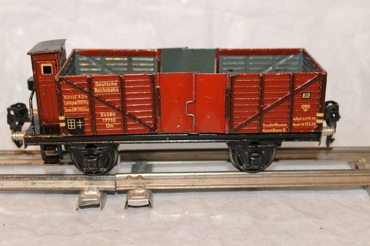 Schöner Hochbordwagen 1771/0 der Firma Märklin Spur 0