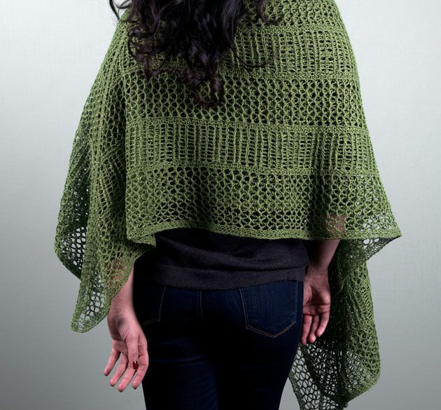 Americo Original / Olive Flycatcher Shawl - for the adventurous knitter!