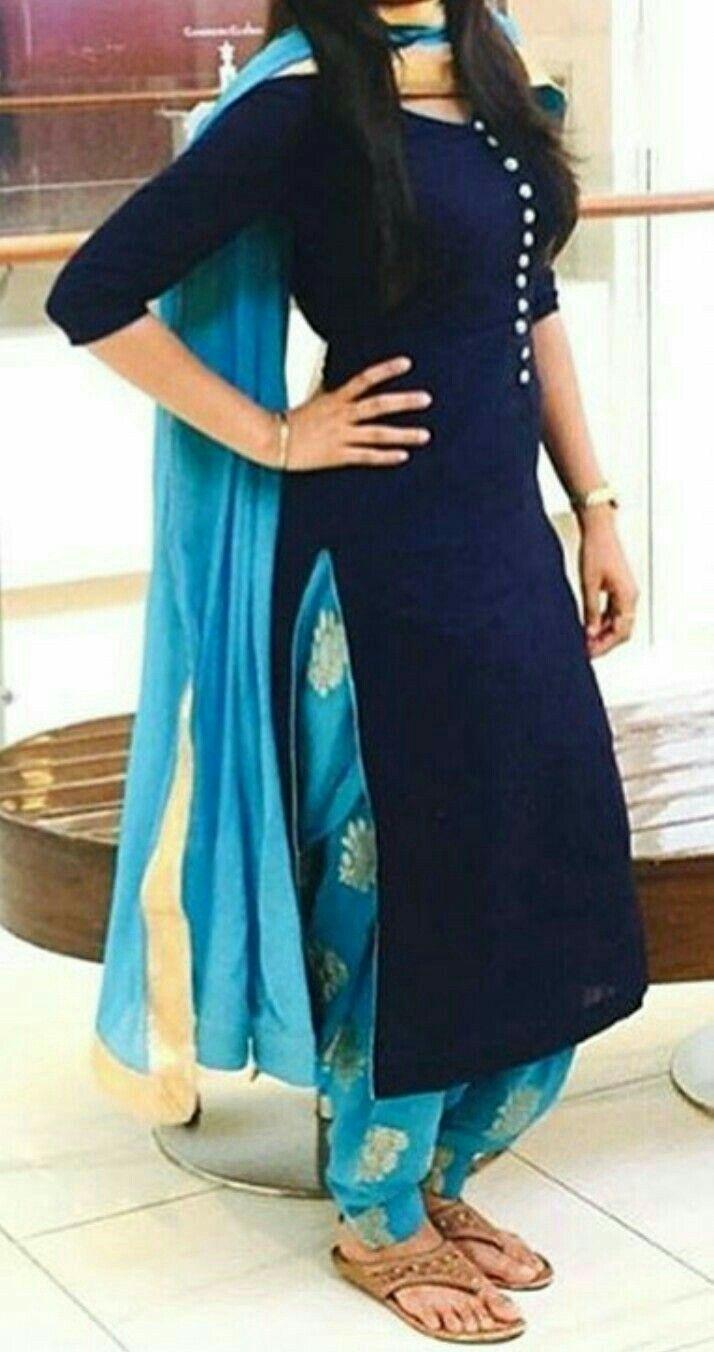 Designer panjabi suit