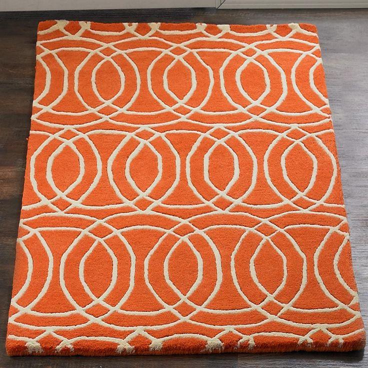 Modern Rug Orange: Best 25+ Orange Rooms Ideas On Pinterest