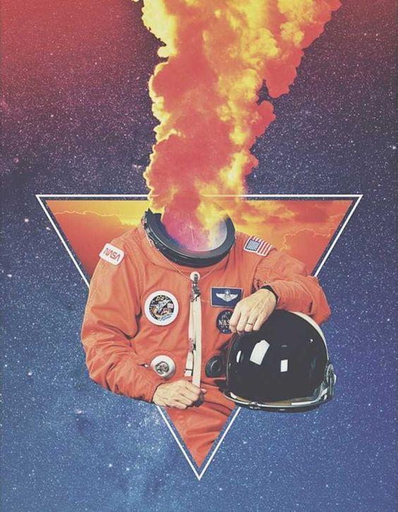 O artista americano Justin Mays, mais conhecido como Maysgrafx cria obras psicodélicas que unem colagem e glitch-art utilizando cores explosivas, em seu instagram é possível conhecer seu trabalho, vale a visita. @maysgrafx