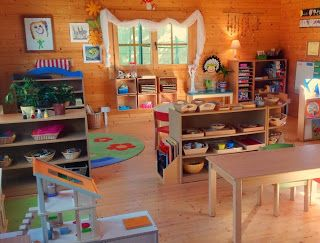 Reggio and Montessori space - I love this!