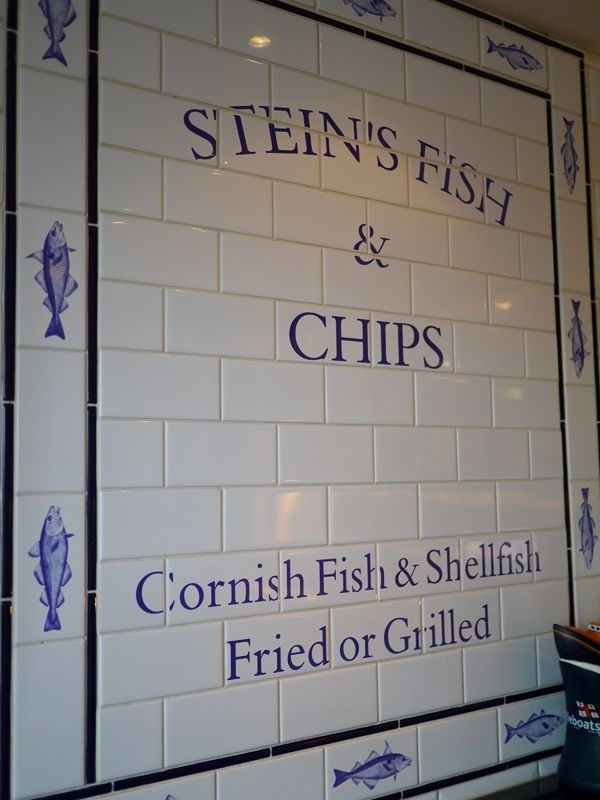Rick Stein's Fish & Chips, Padstow.