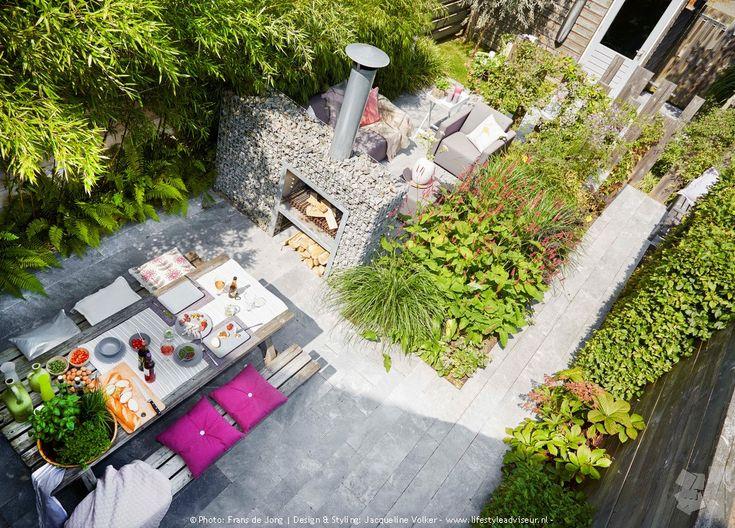 25 beste idee n over frans terras op pinterest franse binnenplaats kalksteen patio en - Buitentuin inrichting ...