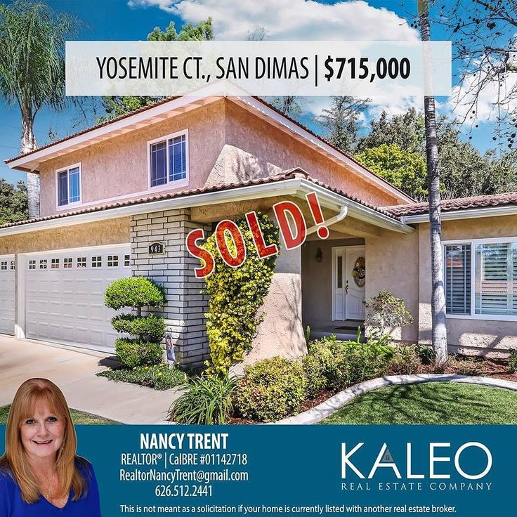 JUST SOLD in San Dimas!! Call Nancy Trent if you're looking to buy or sell! (626) 512-2441 #kaleorealestate #sandimas #kaleoagent #buy #sell #home #house #realtor #realestate #sold #glendora #covina #claremont #laverne