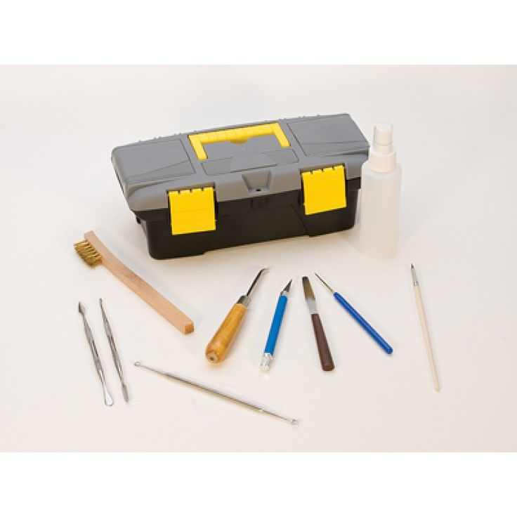 DELUXE TOOL KIT FOR METAL CLAY! Find these tools and more at JewelryTooling.com