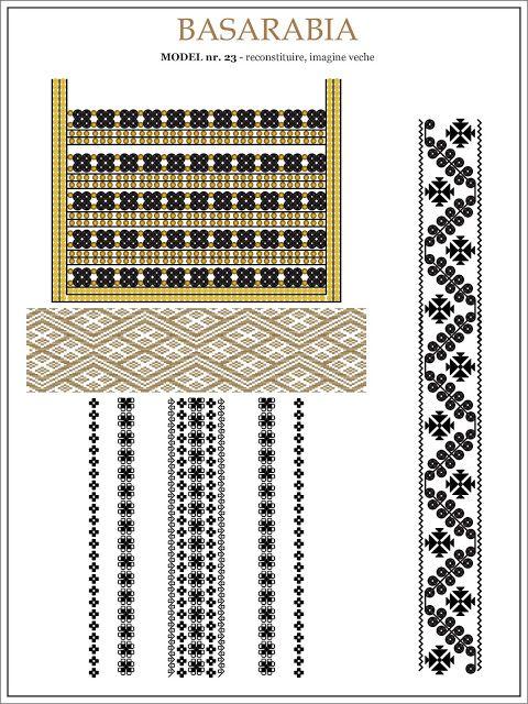 Semne Cusute: iie din BASARABIA - model (23)