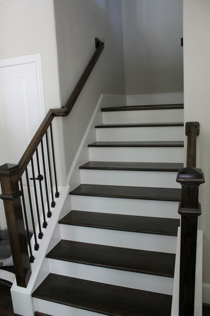 Dark Stairs Next To Iron Spindles Harder To Visualize