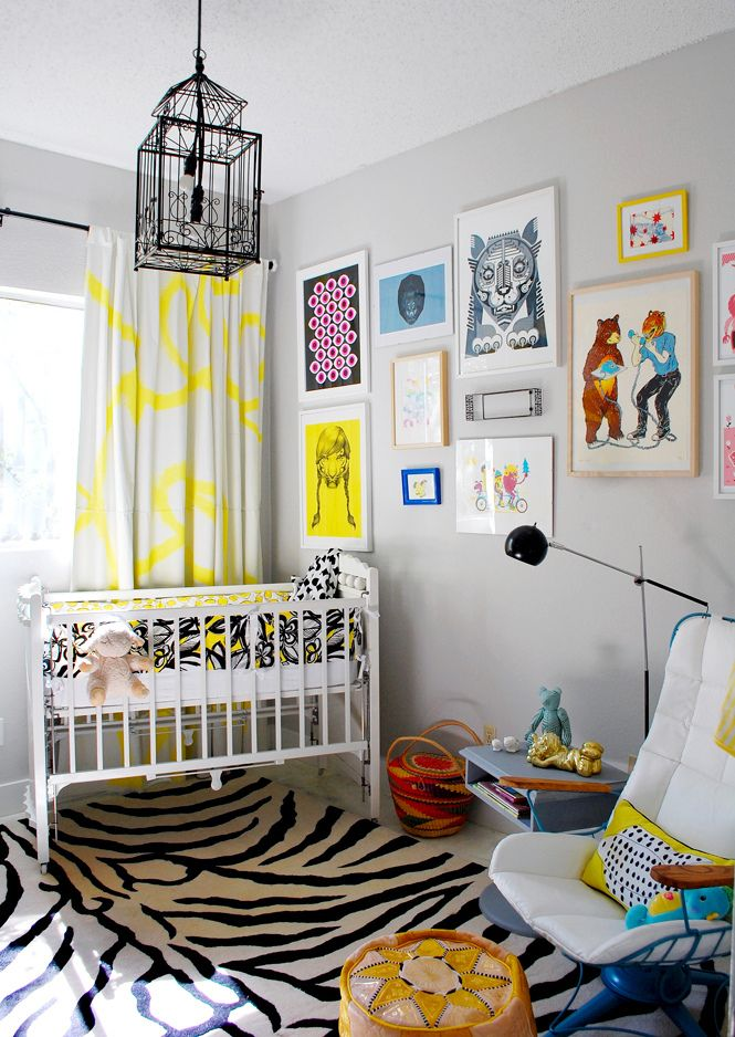 "What I loved most about creating an eclectic nursery is that you have the ability to change the idea of what a nursery should look like. Traditionally families visit a baby superstore, select a ""theme"", and finally flood the space with pink or blue decor. While those tactics are well suited for many new parents I was determined to create a unique, gender neutral space using the following eclectic ideas!"