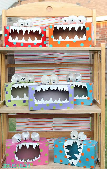 Absolutely love this! Tattle Monster. Easy to make! Kleenex box, paint, white foam for teeth, egg carton and googly eyes for the eyes. Could have students write to the monster or just talk.