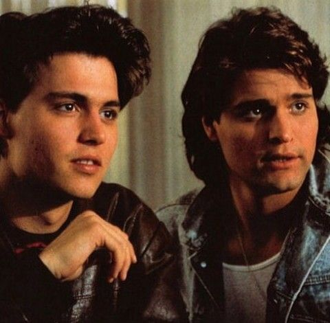 Johnny Depp and Peter DeLuise