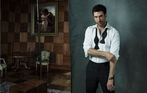… or appear to be in the process of taking your clothes off. | Fact: Dylan McDermott Is The Hottest 52-Year-Old Currently Living