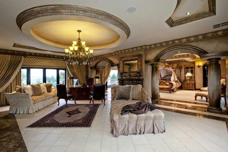 mansion interior master bedroom - Google Search