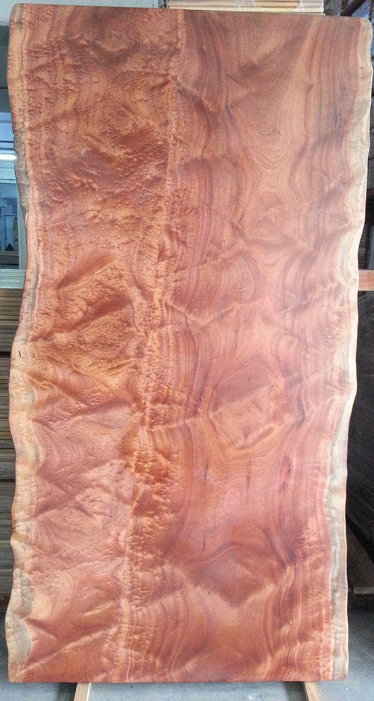 Sapelli Wood Slab Table