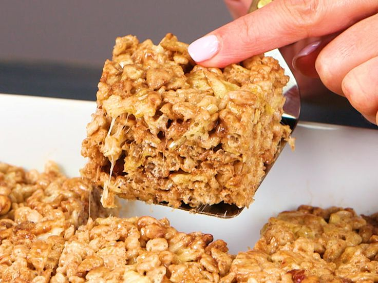 What sets these next-level crispy bars apart from your average Rice Krispies Treat? Well, in addition to the traditional buttery-sweet...