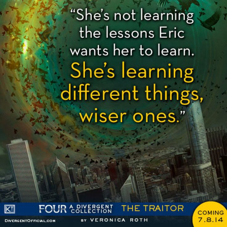 Quote from FOUR: A DIVERGENT COLLECTION by Veronica Roth