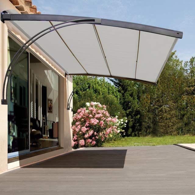Toile Pour Pergola sur Pinterest  Sol Terrasse, Pergola et Store