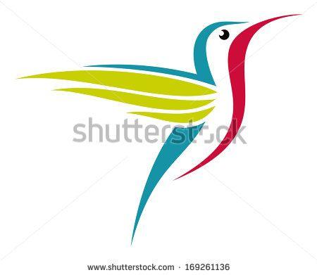 Stylized Hummingbird
