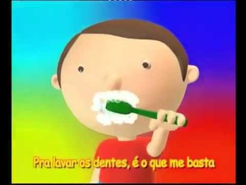 Lavar os dentes