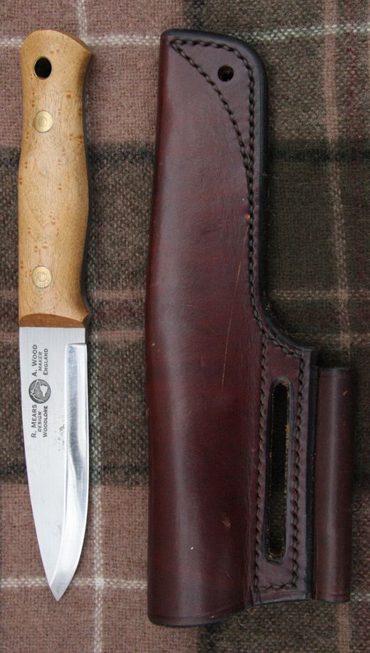 Ray Mears Woodlore Knife Made By Alan Wood Hunting
