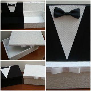 DelicArt - Forminhas e Embalagens Especiais.: Casal de Noivinhos em formato caixa.