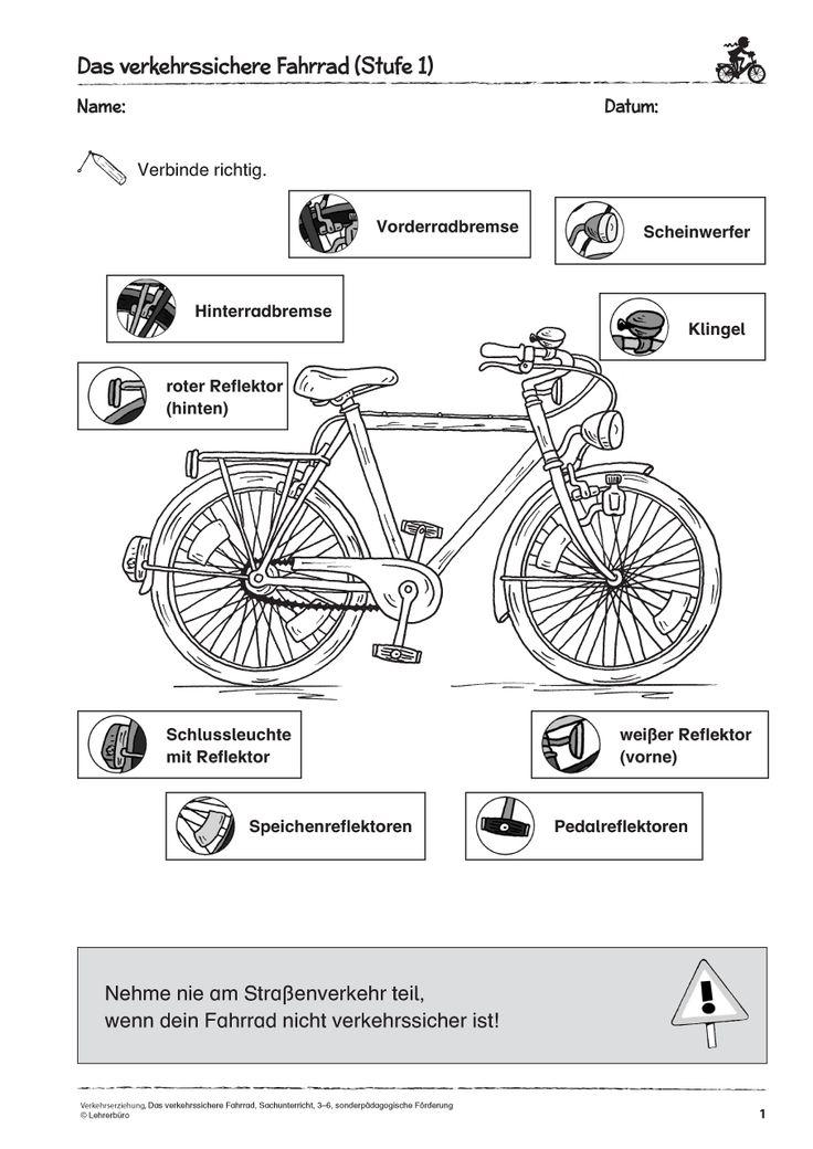 die besten 25 fahrradpr fung grundschule ideen auf. Black Bedroom Furniture Sets. Home Design Ideas