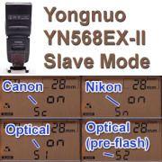 Yongnuo YN568EX-II Remote (slave) Mode - DavidPartington.com