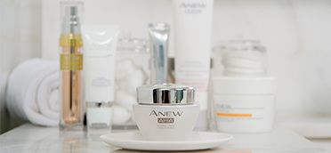 Unlock smoother younger looking skin with ANEW AHA Refining Cream containing 1 of today's top skin care staples, alpha hydroxy acids! #AvonRep