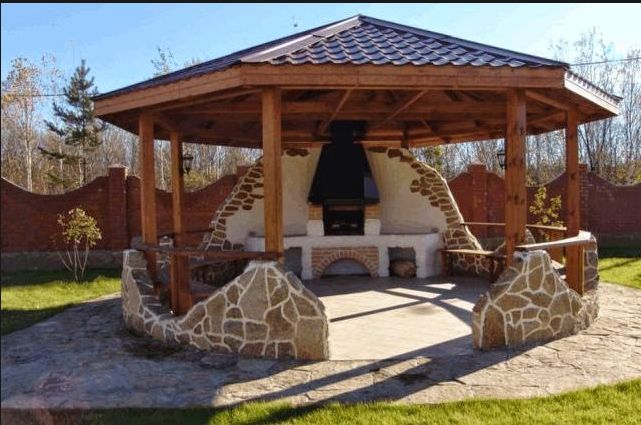Тема: Wooden garden furniture, summer kitchen. Browse: Home / Wooden garden furniture, | Столярный блог.