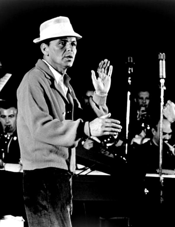 Frank Sinatra in Rehearsal /  AS1966