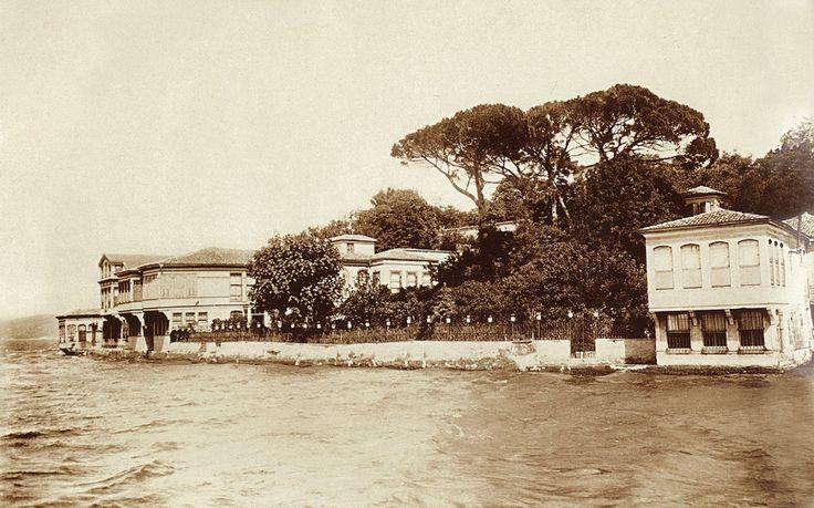 Kanlıca / 1910 / Asaf Paşa Yalısı