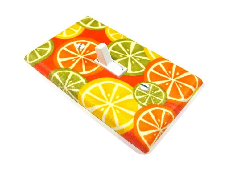 Orange Citrus kitsch Kitchen Decor Home Decoration Lemon Yellow Lime