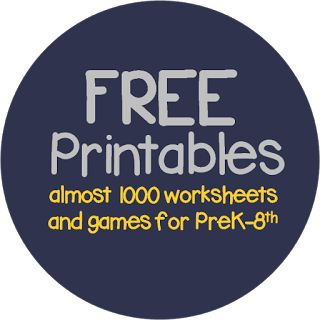 650 free printables, worksheets for kids, homeschool, preschool, prek, kindergarten, first grade, 2nd grade, 3rd grade, 4th grade, 5th grade, 6th grade, 7th grade, and 7th grade--s my number of  FREE worksheets for kids continues to grow (currently over 650), I want to make sure they are organized so you don't have to look through every single post to find a particular printable / subject you are looking for. So you can easily search almost 1000 FREE printables below by subject OR by grade.