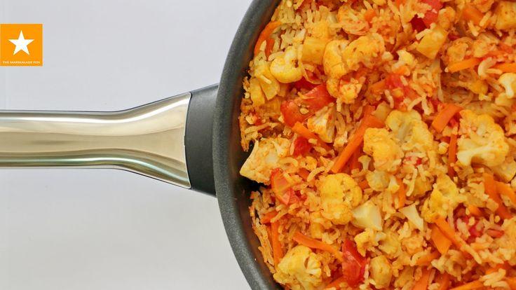 Рис с овощами от Мармеладной Лисицы. Вегетарианский плов универсальный р...