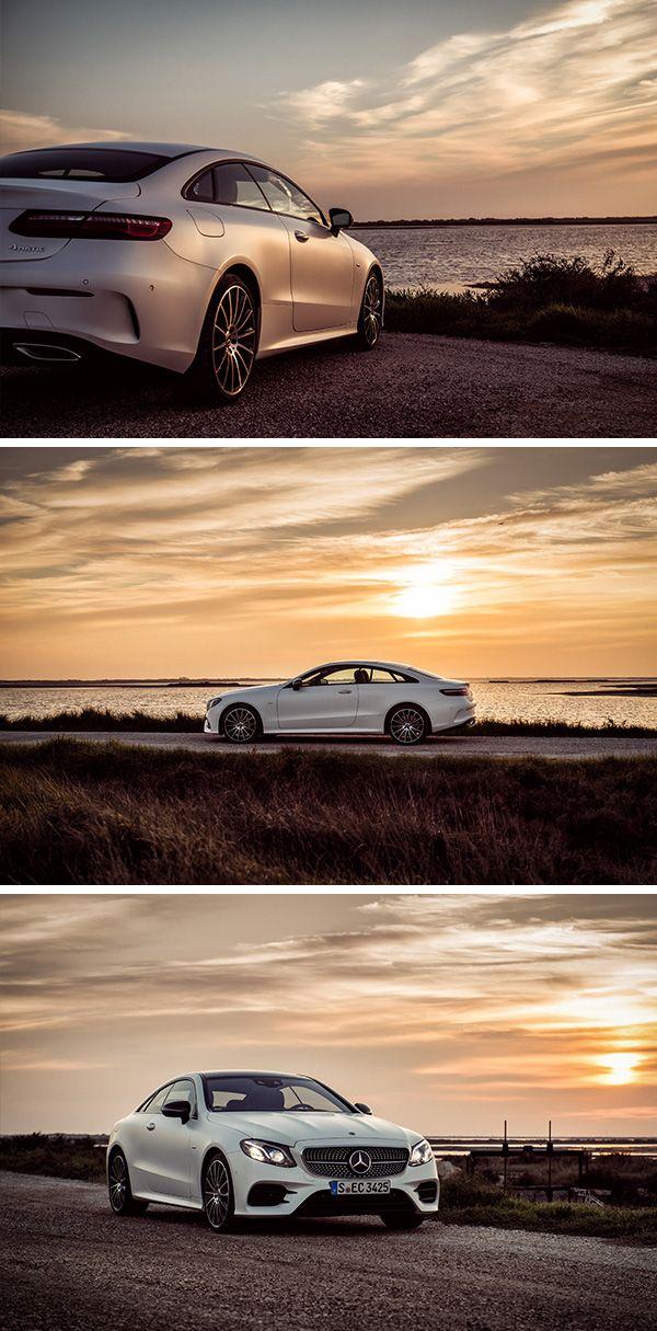 Automotive personality with esprit - The Mercedes-E-Class Coupé. Photos by Florian Haizmann (www.prismview.de) for #MBsocialcar