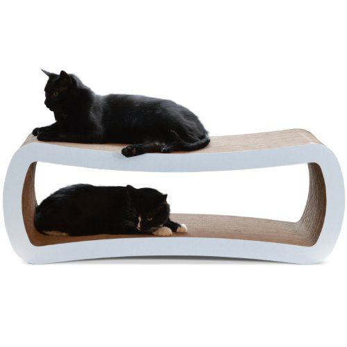 PetFusion Jumbo Cat Scratcher Lounge   Overstock Shopping   The Best Prices  On Cat Furniture