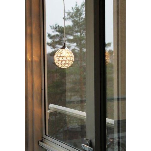Oriva Fönsterlampa Kristallboll 13 cm - lavanille.com