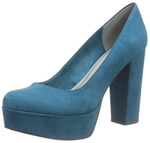 Oferta: 34.95€. Comprar Ofertas de Marco Tozzi22446 - Zapatos de Tacón Mujer , color Turquesa, talla 39 barato. ¡Mira las ofertas!