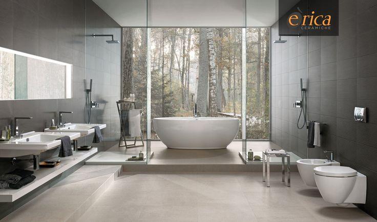 Vuoi dare al tuo bagno un gusto raffinato ma allo stesso tempo naturale? La Basaltina in gres porcellanato arricchisce gli ambienti ed è adatta sia alle pavimentazioni che ai rivestimenti di ambienti interni.  Disponibile presso http://www.ericacasa.it