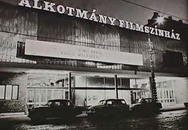 1970 Alkatmány mozi, Újpest
