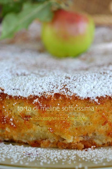 DOLCISOGNARE: Torta di meline selvatiche