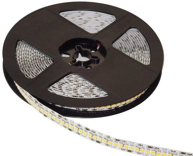 Vei fi placut surprins de lumina oferita de noul model de BANDA LED 240x3528 18W/M 12V cu alb cald. Fie ca o folosesti la scafe, mobila sau in alte aplicatii la interior, lumina oferita, va fi una superioara fata de cea data de celelalte modele existente de banda LED 12V. Pret pe metru.