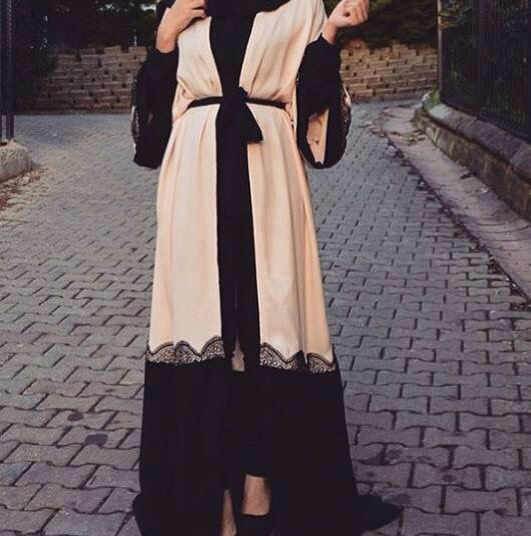 Pinterest: @eighthhorcruxx. Abaya More