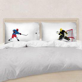 Hockey Pillowcase Set - Go For The Goal