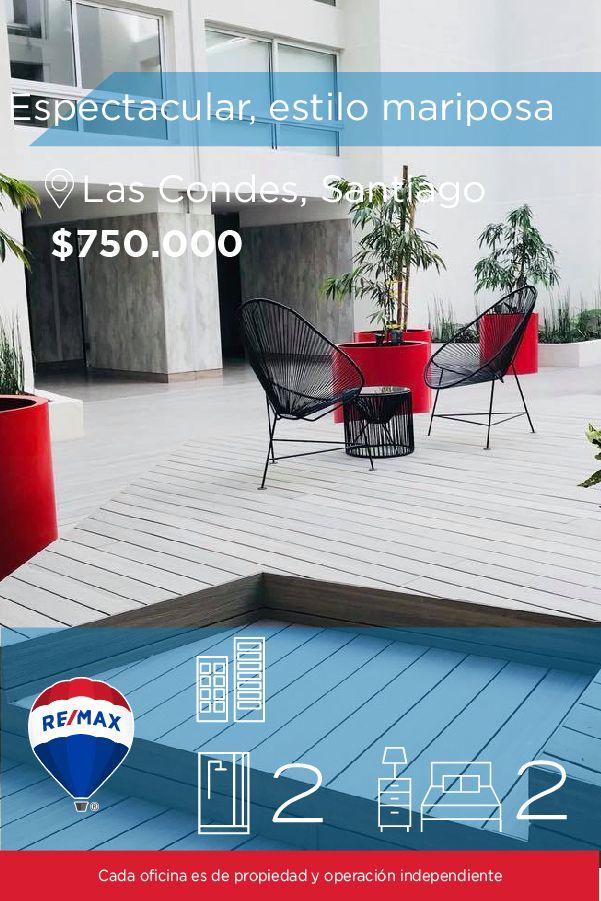 [#Departamento en #Arriendo] - Espectacular depto estilo mariposa en los Dominicos  🛏: 2 🚿: 2  👉🏼 http://www.remax.cl/1028046008-35  #propiedades #inmuebles #bienesraices #inmobiliaria #agenteinmobiliario #exclusividad #asesores #construcción #vivienda #realestate #invertir #REMAX #Broker #inversionistas #arquitectos #venta #arriendo #casa #departamento #oficina #chile