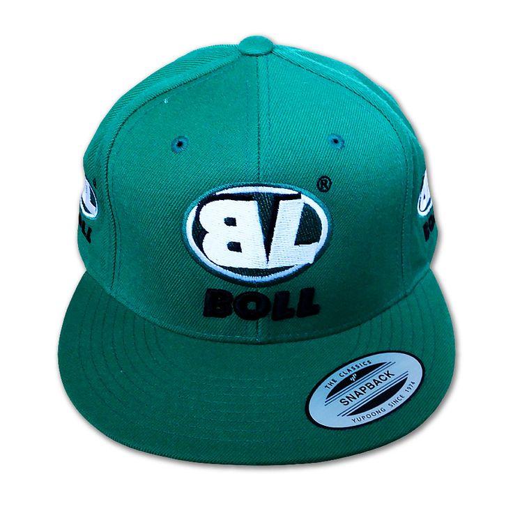 Snapback zielony Boll