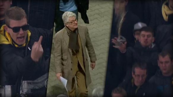 Marcel Reif spricht über die Attacke aus dem BVB-Fanblock in Dresden.