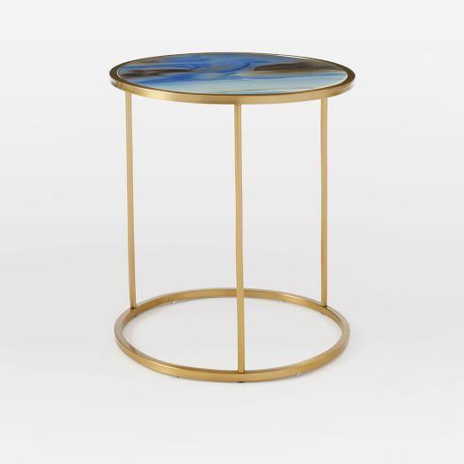 Roar + Rabbitu0026trade; Glass Side Table